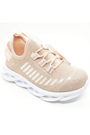 Pabucchi Kids 2020 Minicup Pudra Kız Çocuk Spor Sneaker Ayakkabı
