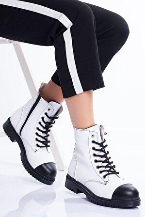 Ayakkabı Frekansı Merim Bot BEYAZ