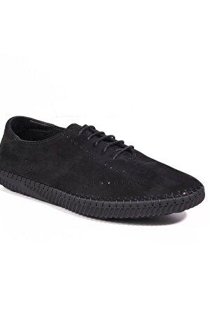 Desa Hakiki Deri Siyah Erkek Sneaker 2010042963