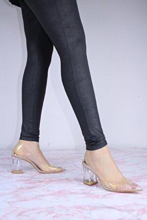 ByErz Kadın Hazel Topuklu Ayakkabı