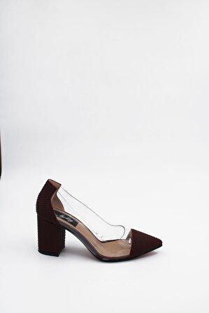 ByErz Kadın Bordo Ayakkabı
