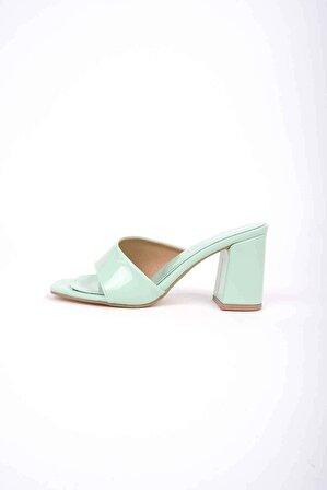 Tinka Bell Shoes Kylie Terlik Su Yeşili Rugan