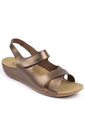 Capone Outfitters Kadın Bakır Sandalet