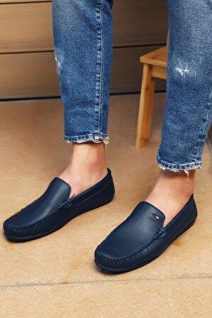 S1441 Erkek Lacivert Ayakkabı
