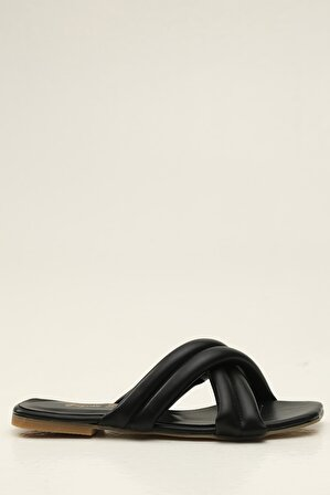 S1441 Siyah Kadın Terlik
