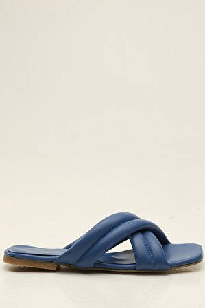 S1441 Mavi Kadın Terlik