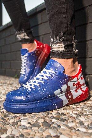 Chekich Ch254 Bt Erkek Ayakkabı 441 Mavi / Kırmızı Yes