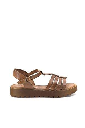 Eşle 9Y-Z-VRL307 Kadın Sandalet Taba