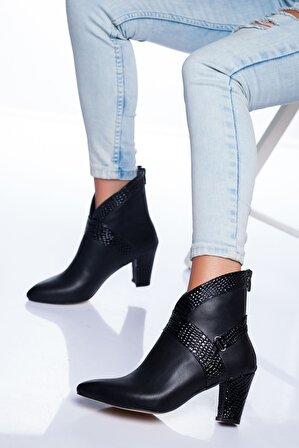 Ayakkabı Frekansı Gizmo Bot Siyah Cilt