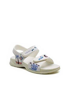 Ceyo 4000-40 Çocuk Sandalet Beyaz