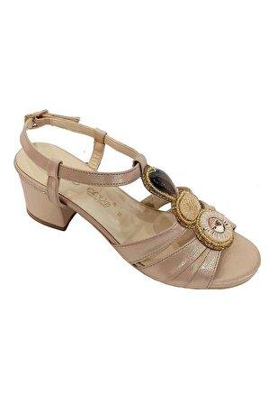 SMS Kadın Bakır Kleopatra Kadın Sandalet 3015