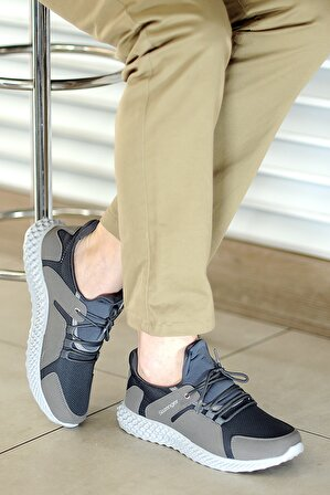 Slazenger Erkek Gri Günlük Ayakkabı
