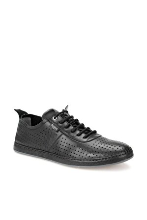 Dockers By Gerli Hakiki Deri Siyah Koyu Gri Erkek Ayakkabı
