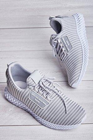 Bambi Buz Beyaz Erkek Sneaker
