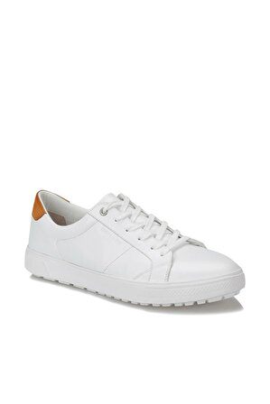 Dockers By Gerli Hakiki Deri Beyaz Erkek Sneaker