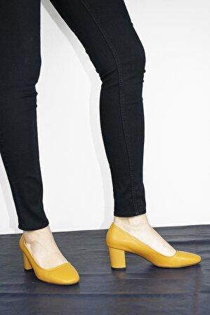 ByErz Hardal Kadın Ayakkabı