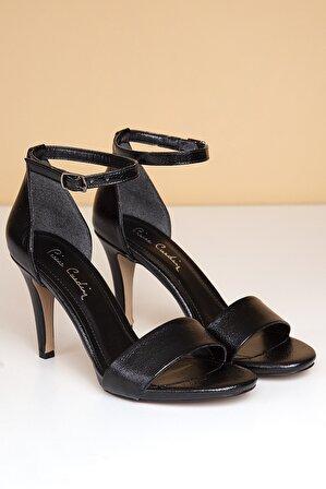 Pierre Cardin Pc-50169 Kadın Topuklu Ayakkabı-parlak Siyah
