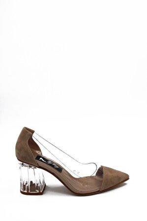 ByErz Ten Süet Kadın Ayakkabı