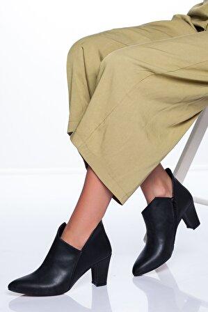 Ayakkabı Frekansı Kalen Ayakkabı Siyah Cilt