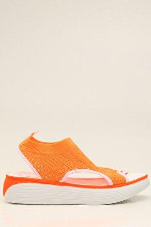 S1441 Turuncu Kadın Sandalet