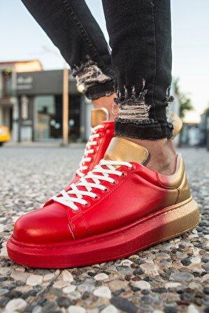Chekich Ch254 Bt Erkek Ayakkabı 440 Kırmızı / Sarı
