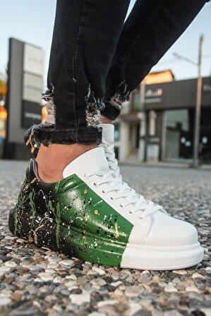 Chekich Ch254 Bt Erkek Ayakkabı 437 Beyaz / Yeşil / Siyah