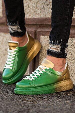 Chekich Ch254 Bt Erkek Ayakkabı 428 Yeşil / Sarı