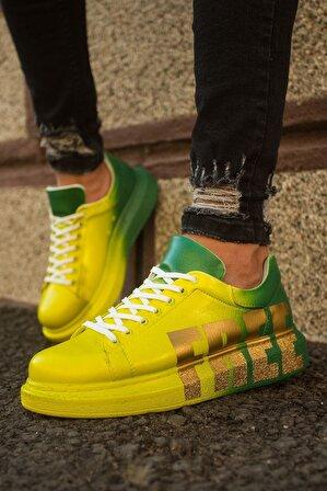 Chekich Ch254 Bt Erkek Ayakkabı 432 Sarı / Yeşil Free