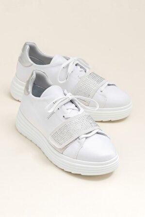 Elle Shoes Bej Kadın / Kız Spor Ayakkabı LORETE