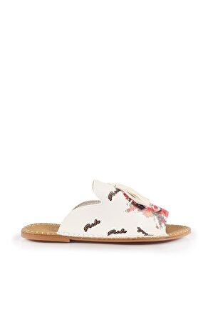 Stilgo Kadın Metallik Sandalet Dln2506