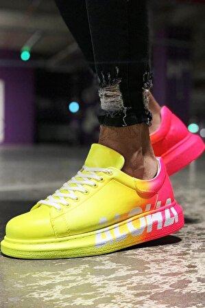 Chekich Orijinal Fancy Yellow Aloha Degrade Sneaker Ch261