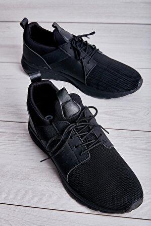 Bambi Siyah Erkek Sneaker