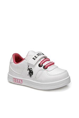 U.S. Polo Assn.  Cameron Beyaz Sneaker Ayakkabı