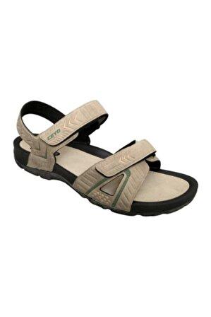 Ceyo Camel Erkek Sandalet