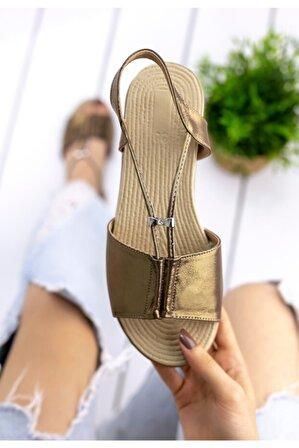 pabucmarketi Kadın Comfort Terlik Sandalet Ayakkabı Er212