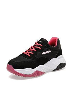 lumberjack Ecık Siyah Kadın Sneaker Ayakkabı