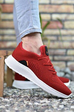 Riccon Kırmızı Erkek Sneaker 0012461