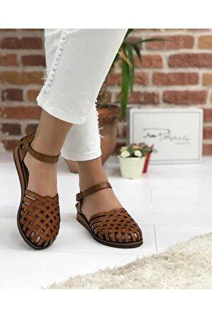 Pabuç Kadın Taba Porto Sandalet