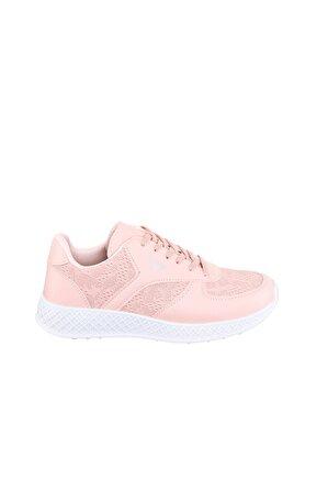 JustBow Kadın Pudra Sneaker