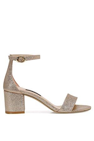 Nine West Kadın Altın Sandalet