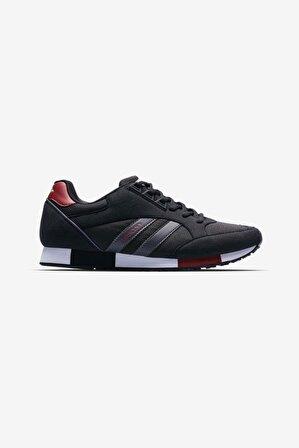 Lescon Unisex Siyah Günlük Sneakers Spor Ayakkabı