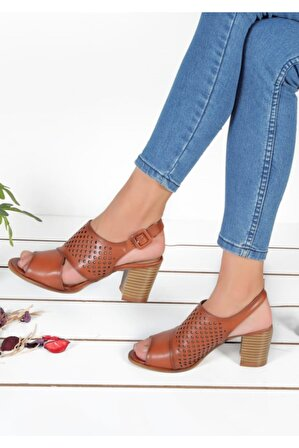 Byn Ayışığı Taba Ortopedik Kadın Sandalet