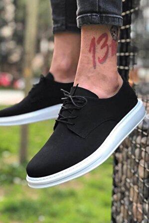 BOA Erkek Siyah Süet Ayakkabı