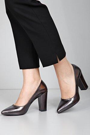 G.Ö.N Kadın Topuklu Ayakkabı 40200