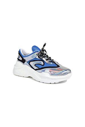 Desa Kadın Mavi Gri Mirabelle Hologram Sneaker