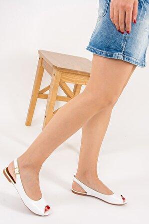 Fox Shoes Beyaz Kadın Sandalet
