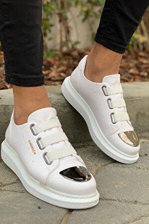 Chekich Erkek Ayakkabı Beyaz Ch251 Bt