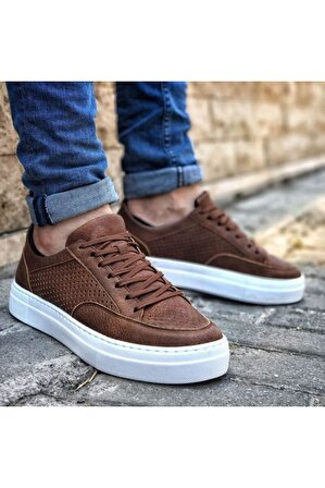 Chekich Erkek Taba Bağcıklı Sneaker
