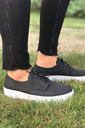 Chekich Erkek Siyah Ayakkabı Ch061 Bt