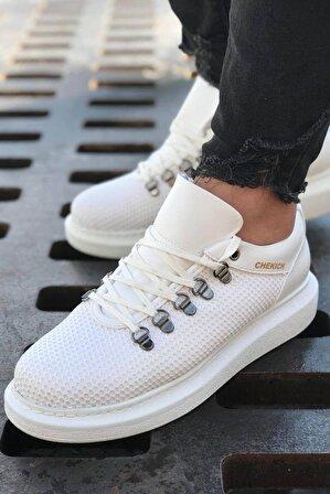 Chekich Erkek Beyaz Ayakkabı Ch021 Ybt